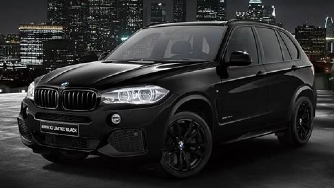 BMW X5 LIMITED BLACK & WHITE.